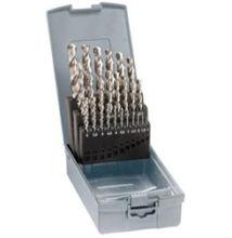Csigafúró készlet DIN 338 RN FormGu500 130° HSSCo5 köszörült d 1-10,5/0,5 24 részes Gühring 12