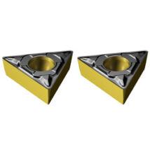 Esztergalapka TCMT 090202-PF 4325 Sandvik acél