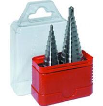 Lépcsős lemezfúró készlet HSSCo5 d 6-30 d 6-38 / 2 részes Narex 691803